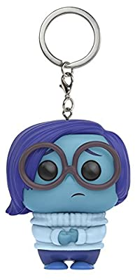 Funko - Porte Clé Disney Vice Versa - Sadness Pocket Pop 4cm - 0889698113410