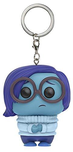 Preisvergleich Produktbild Funko – Pocket Pop Schlüsselanhänger: Disney Alles steht Kopf Sadness Figur