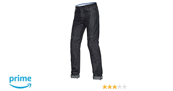 Dainese D1 EVO Jeans, Schwarz Aramid Denim, Größe 36