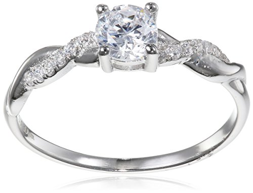 s.Oliver Damen-Ring 925 Silber rhodiniert Zirkonia weiß Gr. 54