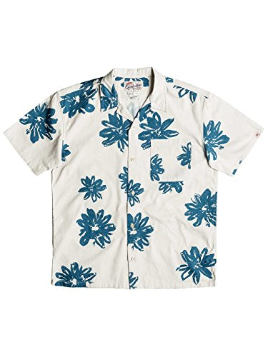 Herren Hemd kurz Quiksilver South Beach Dimes Hemd birch vintage surf