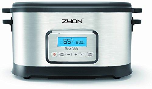 Zyon Premium Sous Vide - Olla de cocción lenta (8,5 L de capacidad, 520 W, con rejillas y pinzas) width=