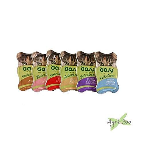 OASY Delicatesse pate fine 85gr - Mangimi umidi per gatti