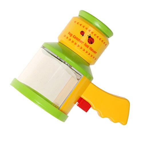 -Box Insekten Betrachter Insektenlupe Acryl-Lupe Mikroskop Box Wissenschaft Spielzeug für Naturwissenschaft Lehrmittel - 8,4x13x14,5cm ()