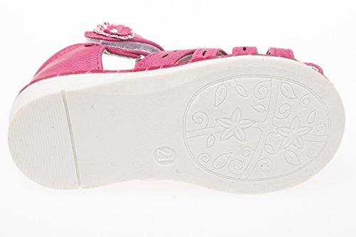 Gibra ® sandales pour bébés et enfants en bas âge, taille 26–31 lederfußbett rose Rose - Rose