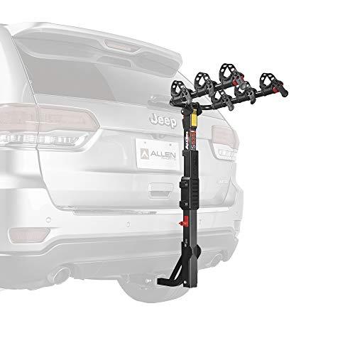 Allen Sports Deluxe 4-Bike Hitch Rack Mount mit 2-Zoll-Receiver