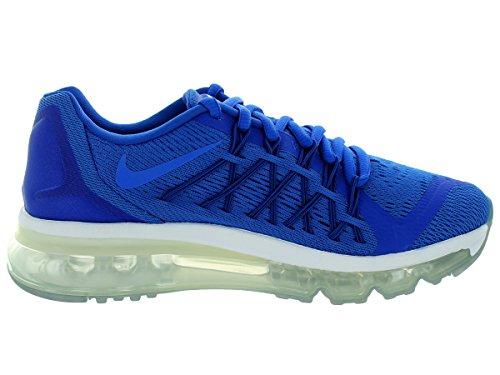 Nike Jungen Air Max 2015 Sneaker, Blau Marineblau / Weiß