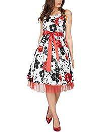 Black Butterfly Rhya Vestido Vintage De Los Años ...