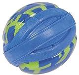 Schwimmhilfe XL 45 cm für Hunde mit Spielball Schwimmspielzeug Wurfspielzeug Schwimmweste Sicherheitsweste Hundeschwimmweste Apportierspielzeug zum Üben Rettungsweste Warnweste auch zur Physiotherapie geeignet mit Bringsel - 4