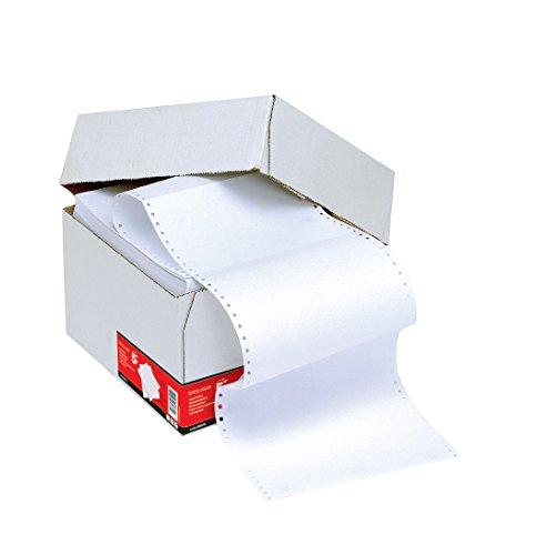 5 Star Endlospapier 1-fach mikroperforiert 60 g/m² 27,9 cm x 24,1 cm blanko 2000 Blatt