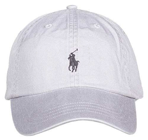 Ralph Lauren Polo Herren Baseball Classic Cap Sport (One Size, Channel Grey)