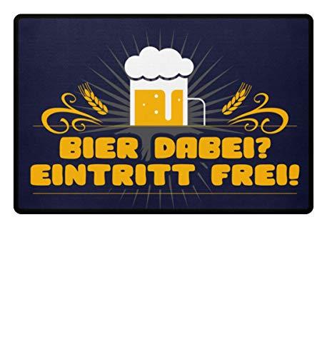 Galeriemode Bier dabei? Eintritt frei! Home für drinnen und draussen - Fußmatte