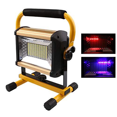 HUANGLP LED blendung tragbare licht high Power außenjustage warnlicht projektion 100 watt Lade Camping licht Haushalt Notfall langaufnahme Camp Zelt licht