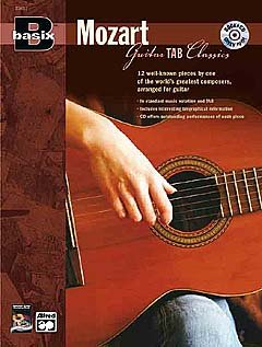 BASIX MOZART - GUITAR TAB CLASSICS - arrangiert für Gitarre - mit Tabulator - mit CD [Noten / Sheetmusic] Komponist: MOZART WOLFGANG AMADEUS
