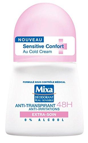 Mixa–Deodorante Donna Sfera antitraspirante 48H Sensitive Comfort extra-soin–50ml