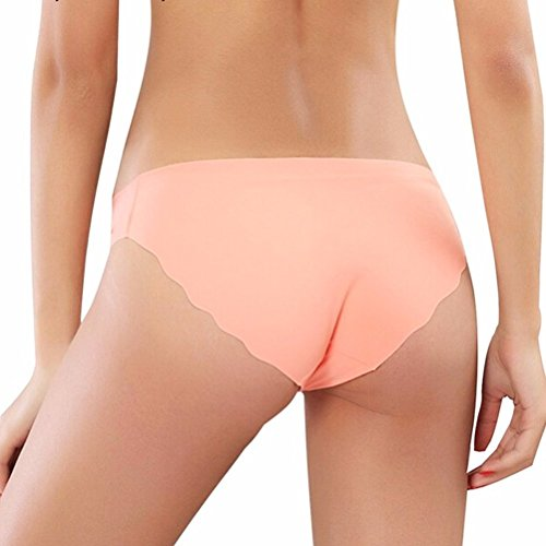 EROSPA® Nahtlose Panties Seamless Damen Frauen Mädchen Unterwäsche Hipster Slip Panty elastisch bequem und super weiche Qualität 8 Farben Türkis