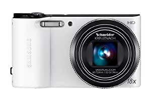 Samsung WB150 Compact Digital Camera - White (14.1MP, 18x Optical Zoom) 3.0 inch LCD