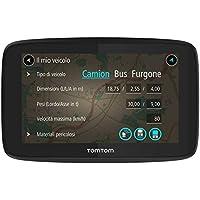 """Tomtom GO Professional 520 Fijo 5"""" Pantalla Táctil Negro, Gris navegador - Navegador GPS (Interno, Toda Europa, 12,7 cm (5""""), 480 x 272 Pixeles, Flash, MicroSD (TransFlash))"""