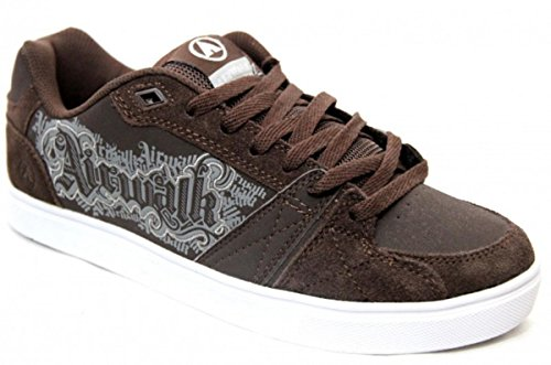 airwalk-skateboard-womens-shoes-collar-lace-black-sneakers-shoes-shoe-size37
