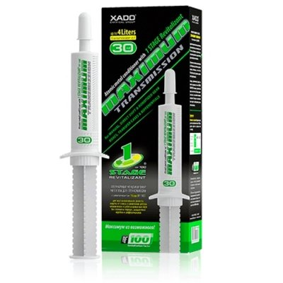 XADO Additivo per olio delle trasmissioni manuali - Condizionatore Atomico del Metallo con Revitalizant® - Maximum Transmission, 30m