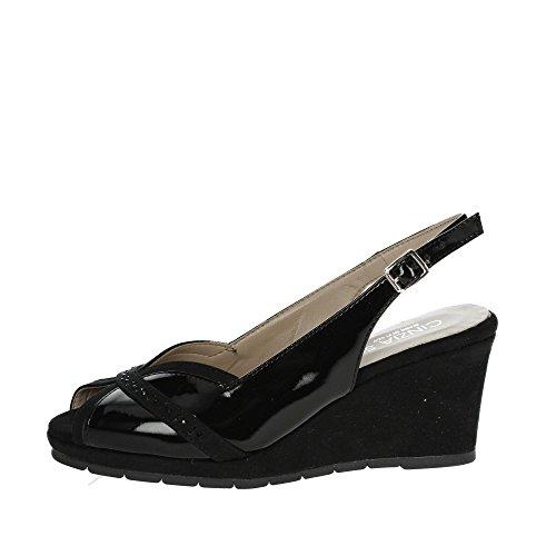 Cinzia Soft 511044CS Sandale Femme Noir