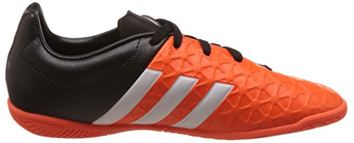 adidas Performance - Ace15.4 In, Scarpe da calcio Bambino Arancione (Orange (Solar Orange/Ftwr White/Core Black))