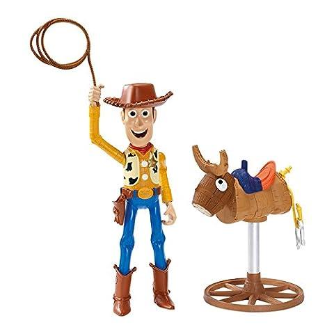 Toy Story - CLX47 - Figurine Animation - Woody fait du Rodéo
