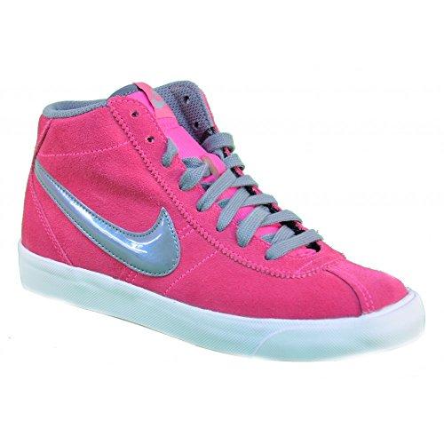Nike - Nike Bruin Mid (GS) Scarpe Donna Rosa Pelle 577864 Rose