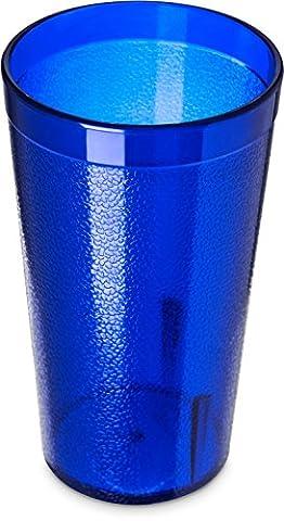 Utopia CA521247 Stackable San Tumbler, 14 oz., 40 cL, Royal Blue (Pack of 72)