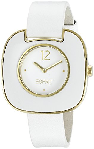 Esprit Ladies Watch Espace ES103762005 Analogue Display and Gold Leather