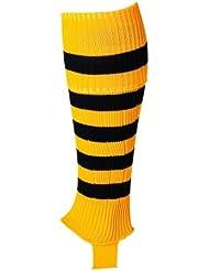 Uhlsport medias de rayas para niño amarillo/negro, color  - multicolor, tamaño NOSIZE
