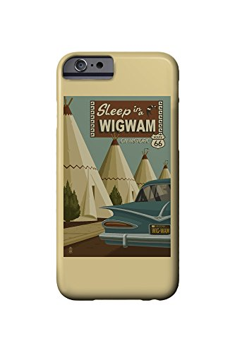 holbrook-arizona-route-66-wigwam-village-motel-iphone-6-cell-phone-case-slim-barely-there