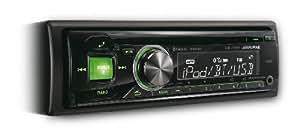 Alpine CDE-174BT Bluetooth Noir, Vert, Rouge récepteur multimédia de voiture - récepteurs multimédias de voiture (4.0 canaux, FM,LW,MW, 87,5 - 108 MHz, 153 - 281 kHz, 1 disques, LCD)