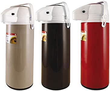 Caraffa termica thermos airpot a pompa, capacità 1,9 lt