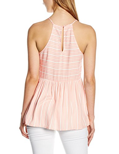 New Look Peplum Cami, Hauts Femme Orange - Orange (Burnt Orange)