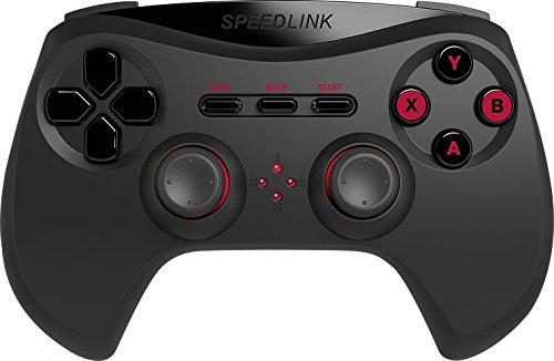 Speedlink Strike NX Gamepad Wireless per PC, Nero