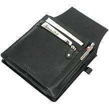 Rimbaldi - intercambios camarero profesionales pistolera de cuero calidad suave, alta con Negro