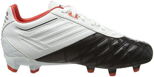 Umbro Jungen Medusae Premier Hg-Jnr Fußballschuhe Weiß (Ede-White/Black/Grenadine)