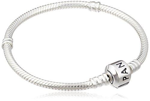 Pandora Damen Moments Schlangen-Gliederarmband Sterling Silber 590702HV-17