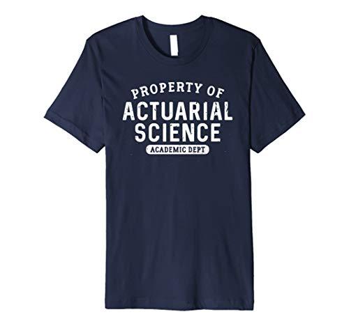 PROPERTY OF versicherungsmathematik T-Shirt: Funny Student Major