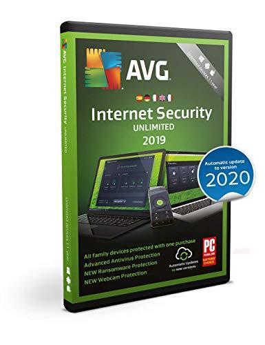 AVG Internet Security 2019   Senza limiti   1 anno