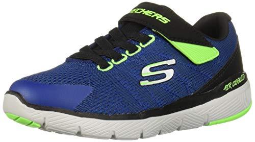 Skechers Jungen Flex Advantage 3.0-transvert Sneaker, Blau (Royal Blue Black Ruby), 34 EU Royal Ruby
