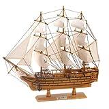 Hms Victory Ship Model Lifelike Schooner...