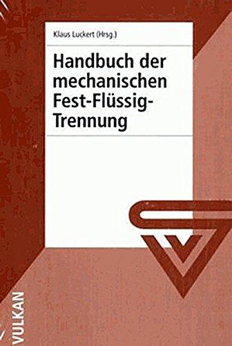 Handbuch der mechanischen Fest-Flüssig-Trennung