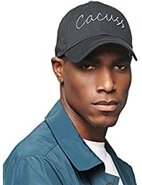 CACUSS Men s Cotton Classic Baseball Cap with Adjustable Buckle Closure Dad  Hat fdbb61c1aea6