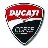 Ducati Corse Power Wanduhr Blech