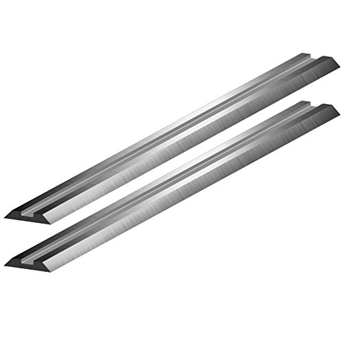 REXXER 2 Wendemesser 82 mm / 5,5 mm / 1 mm HSS Hobelmesser Hobelmesserblaetter Ersatzmesser...