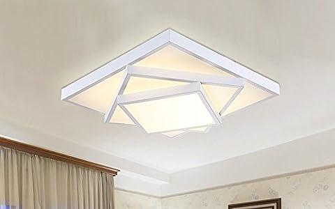 Stylehome LED Deckenlampe für Wohnzimmer Schlafzimmer Kinderzimmer voll dimmbar mit