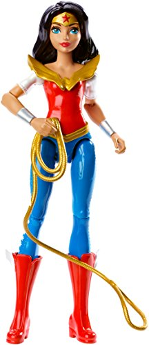 Mattel DMM33 - DC Super Hero Girls Wonder Woman Aktions-Figur (Wonder Woman Kids Outfit)