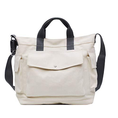 Koreanische Version Der Multi-Disc Freizeit Leinwand Handtaschen Schulter Diagonale Tasche Große Kapazität Reise Tragbare Studententasche 1 33 * 31 * 12 * 10Cm (Für Walker Babys 2 In Einem)